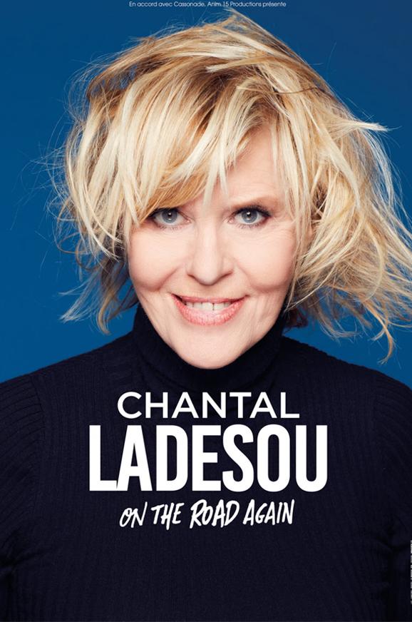 Chantal Ladesou sur le salon des CE eluceo Paris